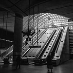 Canary Wharf Station - Main Exit, 13-4-2019 (IMG_5582) Nik SEP2 - High Structure Harsh 4k