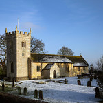 Wighill - All Saints Church in snow, 9-1-2021 (IMG_1366) 4k