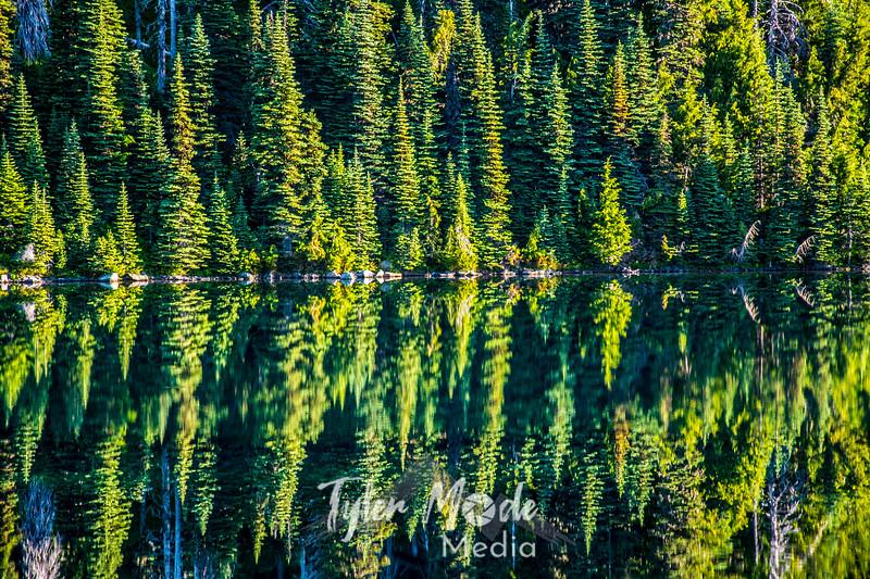 421  G Eunice Lake Reflections
