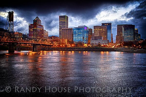 Portland downtown skyline
