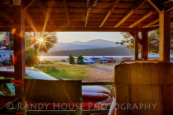 Sunrise on Tom's porch, Low's Resort