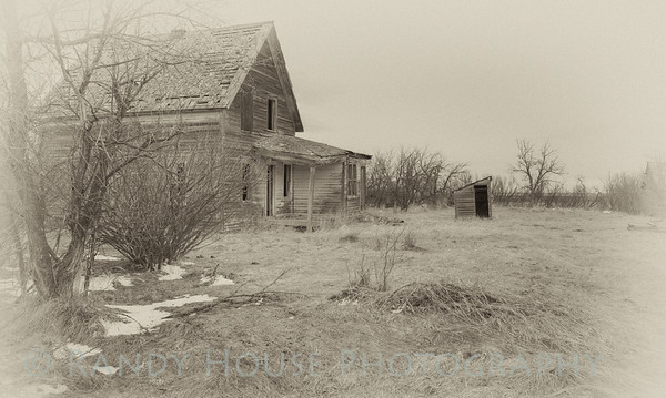 Old Homestead near Moore. If time could talk....
