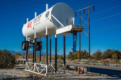 Irrigation Truck Filling Station