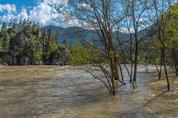 Similkameen Flood 2018, Bromley Rock