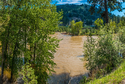 Kettle River Flood at Rock Creek