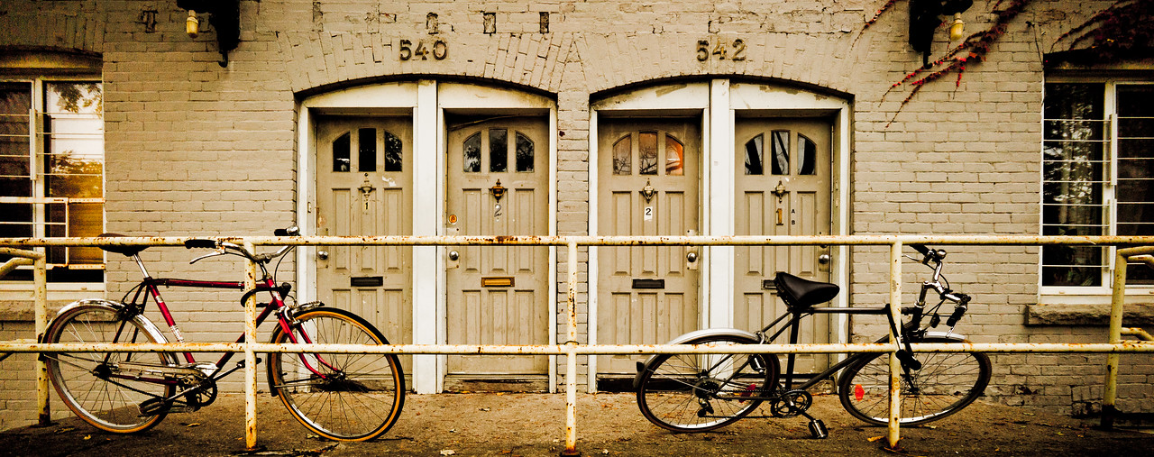 Duplex with Bicycles