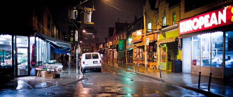 Toronto, Kensington Market, Wet Night