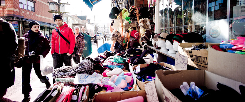Toronto, Kensington Market, Shoppers