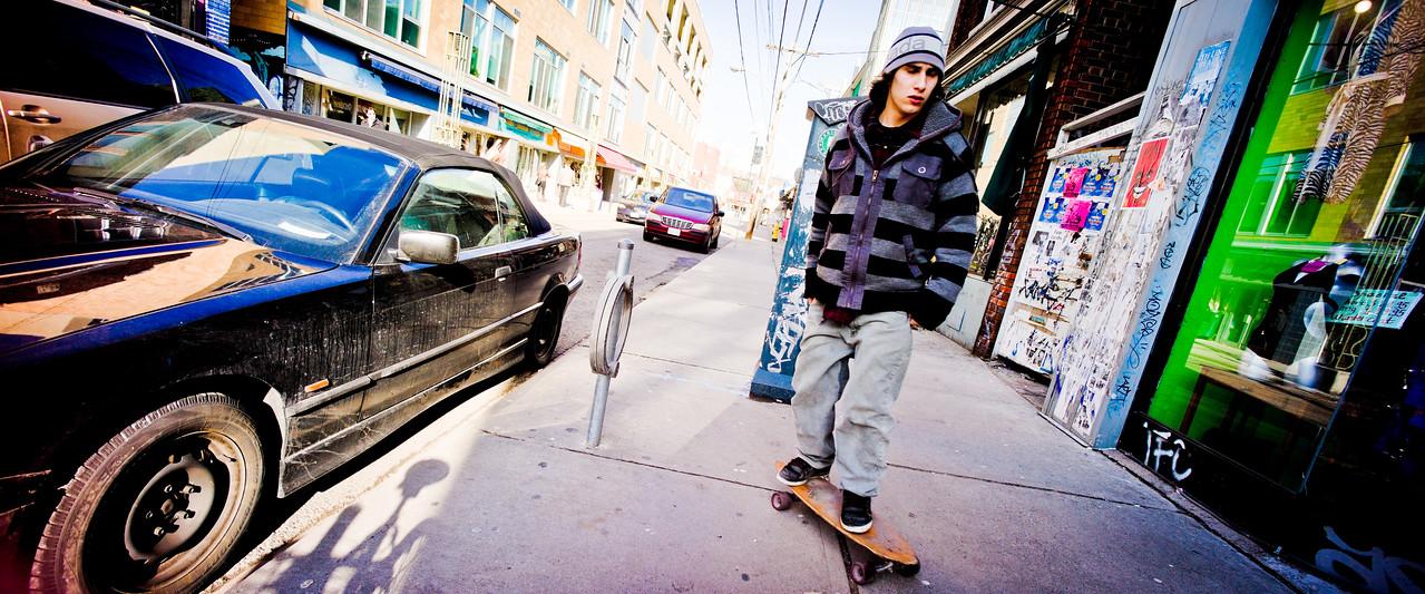 Toronto, Skater