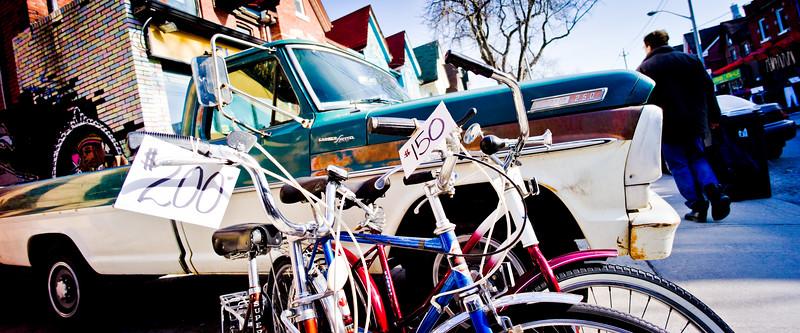 Toronto, Kensington Market, Bicycles for Sale