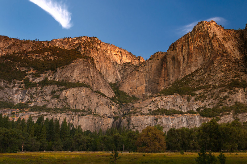 From the Valley Floor<br /> Yosemite National Park