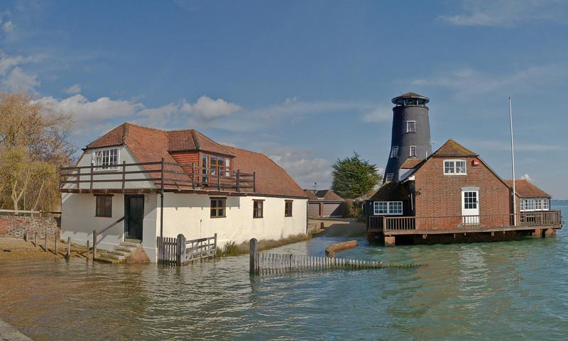 Langstone Mill. Copyright Peter Drury 2010