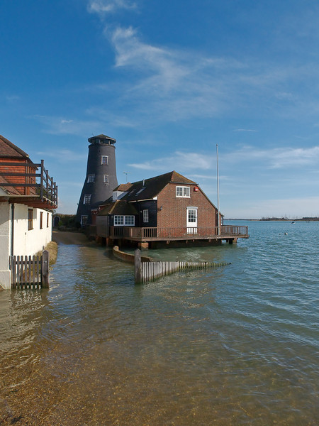 Langstone Mill. Copyright Peter Drury 2010