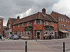 The Square Brewery. Copyright Peter Drury 2010<br /> Located in the north west of The Square. A very popular centre of entertainment today.