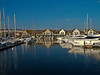 Port Solent north across marina. Copyright Peter Drury 2010