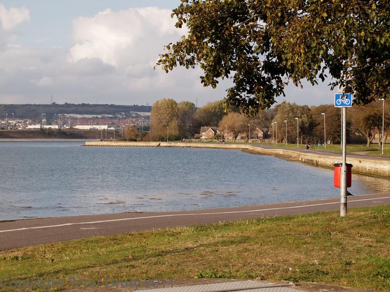 16 Oct 2011 Alexandra Park near to the Mountbatten Centre, Portsmouth.