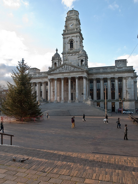 Guildhall, Portsmouth Guildhall Square. Copyright Peter Drury 2010