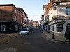 Winchester. Copyright 2009 Peter Drury<br /> Junction Market St and The Square.