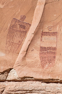 Mysterious Figures of the Great Gallery, Canyonlands National Park, Utah