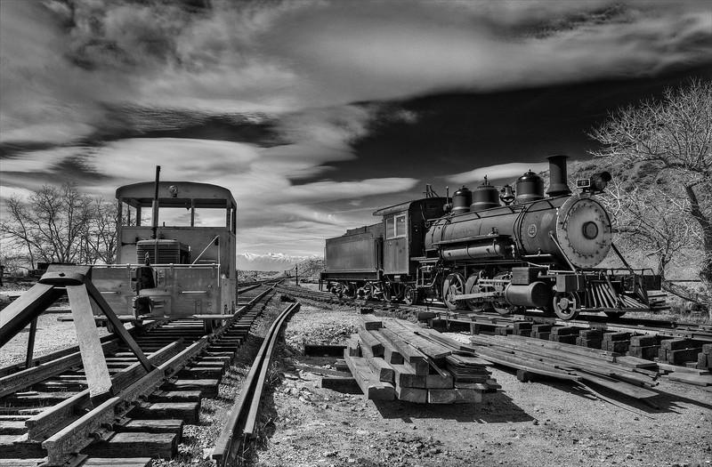 Virginia & Truckee Railroad - Gold Hill - Gold Hill, Nevada