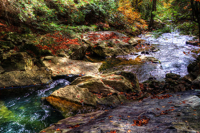 Middle Creek on the Cumberland Trail