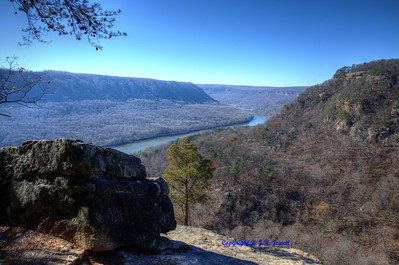 Overlook on the Cumberland Trail, Signal Mountain, Tennessee