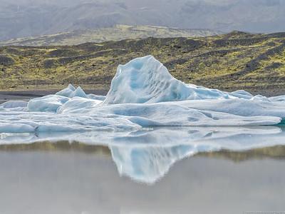 Iceberg in Fjallsarlon