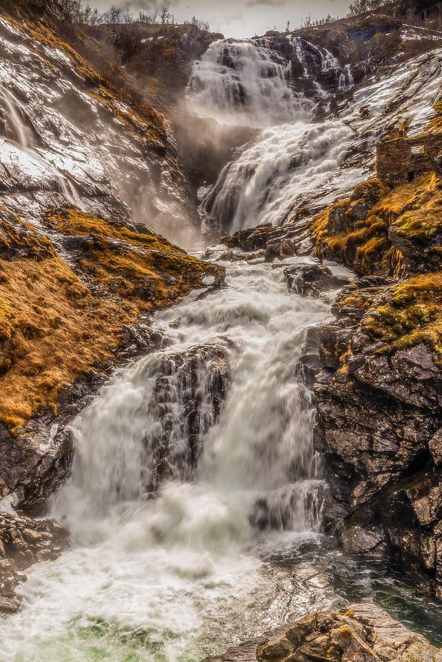 Waterfall in Denmark