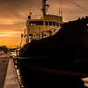 Sunset (Golden Hour) at the Waterfront, Aalborg, Norway