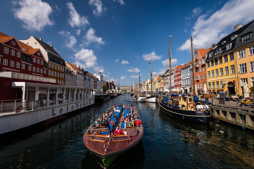 Nyhavn, Copenhagen - Denmark