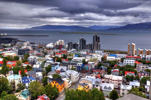 Views-from-the-top-of-Hallgrimskirkja-Reykjavik-HDR-4