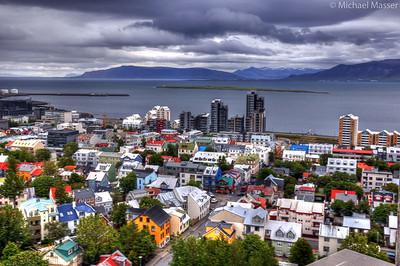 Views-from-the-top-of-Hallgrimskirkja-Reykjavik-HDR-4