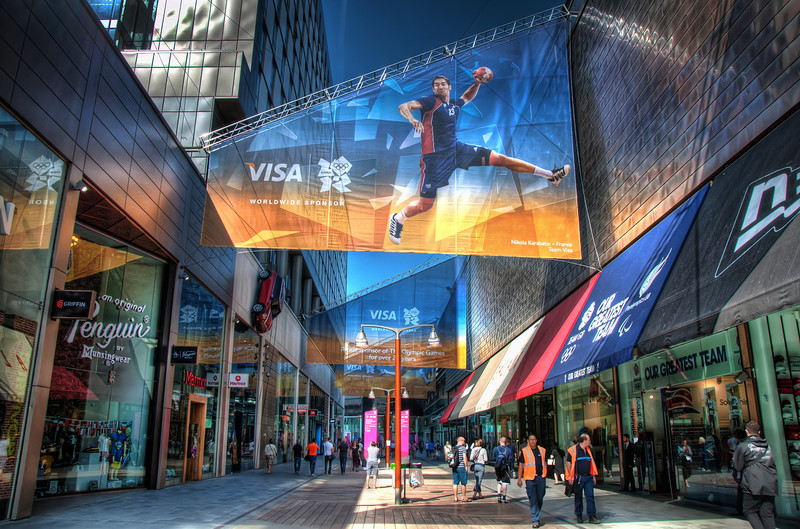 London-2012-Olympics-Westfield-Stratford-HDR