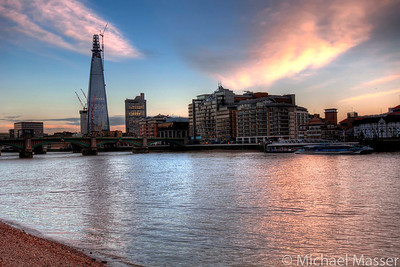 The-River-Looking-East-from-Millennium-Bridge-London-HDR