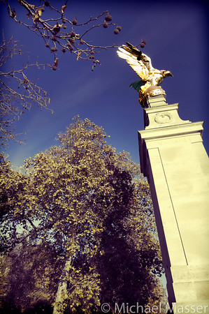 The Golden Bird - War-Memorial-on-Victoria-Embankment-London