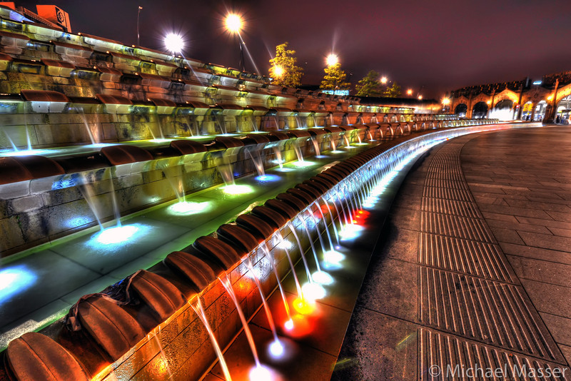 Sheffield-Train-Station-at-Night-HDR-2