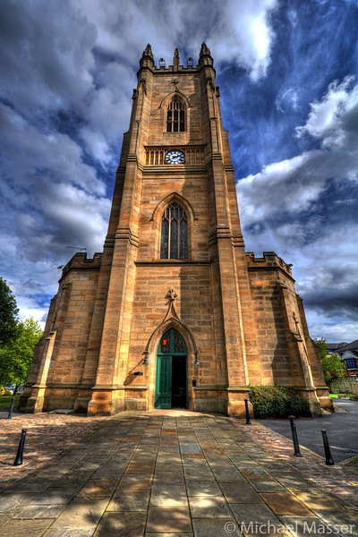 St-George's-Church-Sheffield-HDR-1
