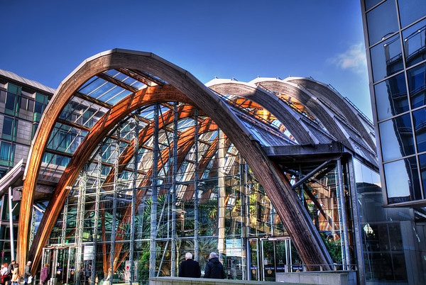Sheffield-Winter-Gardens-Millennium-Gallery-Vitral-Rooflights-External-Towards-Crucible-Theatre-HDR-1