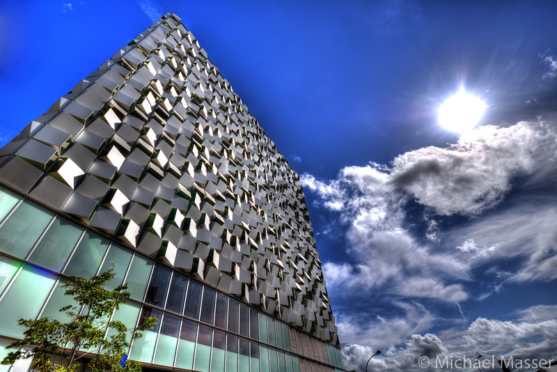 The-Cheese-Grater-Q-Park-Sheffield-HDR