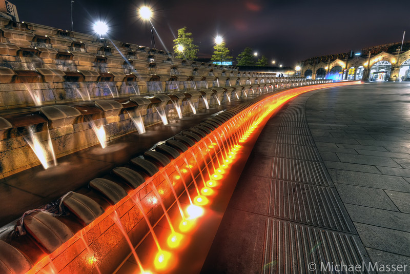 Sheffield-Train-Station-at-Night-HDR-1