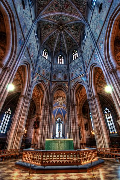 Inside-Uppsala-Cathedral-Uppsala-Sweden-HDR