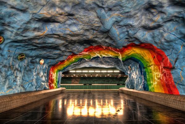 Stockholm-Subway-Stadion-Tunnelbanan-Metro-Stockholm-Sweden-HDR