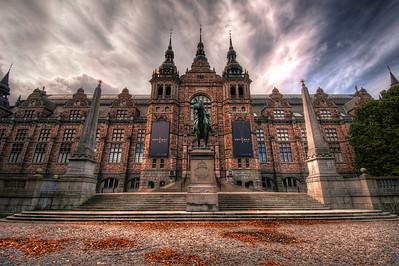 Nordiska-Museet-Nordic-Museum-Stockholm-Sweden-Front-HDR