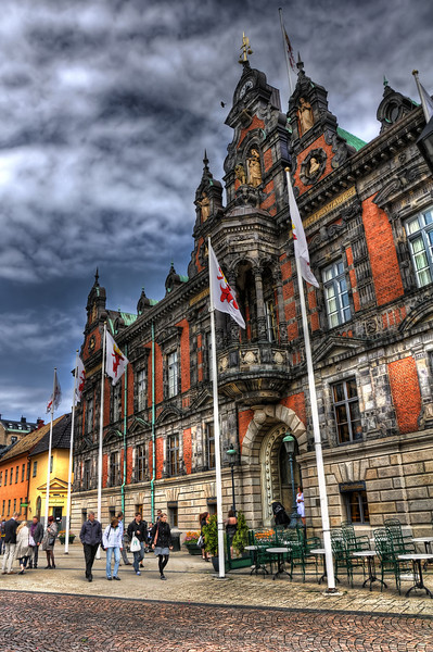 City-Hall-Stortorget-Malmo-Sweden-HDR