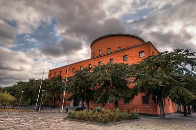 Stockholm-Stadsbiblioteket-Public-Library-Stockholm-Sweden-HDR