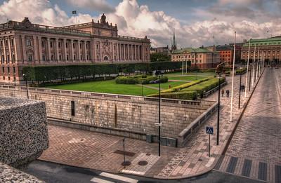 Sveriges-Riksdag-Swedish-Parliament-Gamla-Stan-Stockholm-Sweden-HDR