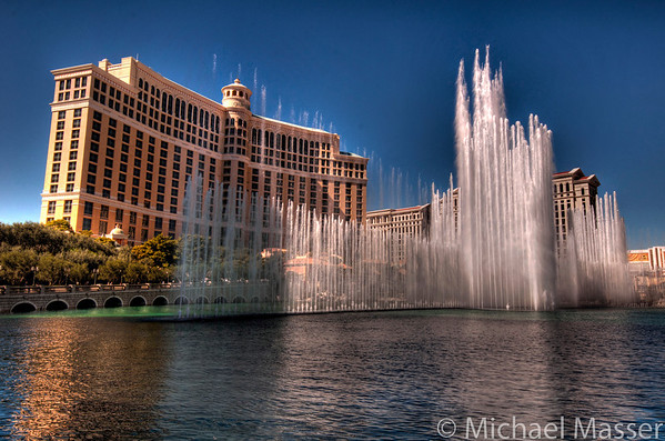Bellagio-Fountains-Las-Vegas-HDR