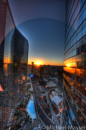 Sunrise-from-Vdara-Hotel-Room-Las-Vegas-HDR