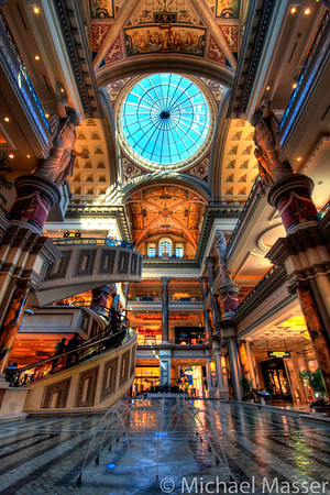 Forum-Shops-Fountains-and-Escalators-Las-Vegas-HDR