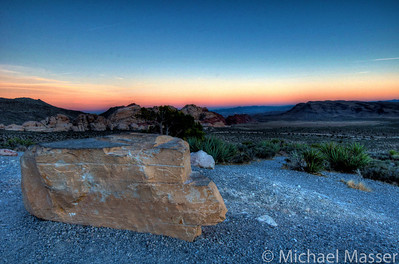 Red-Rock-Canyon-Nevada-at-Sunset-HDR-6